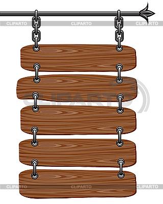 나무 간판 | 벡터 클립 아트 |ID 3078645