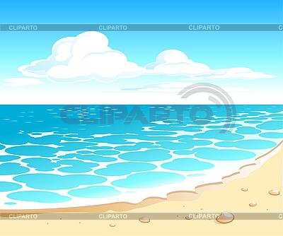 Pejzaż morski | Klipart wektorowy |ID 3078782