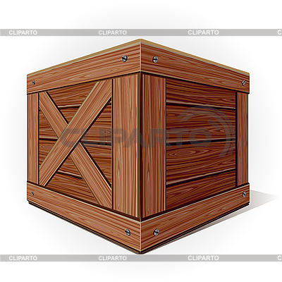 Holzbox | Stock Vektorgrafik |ID 3081667