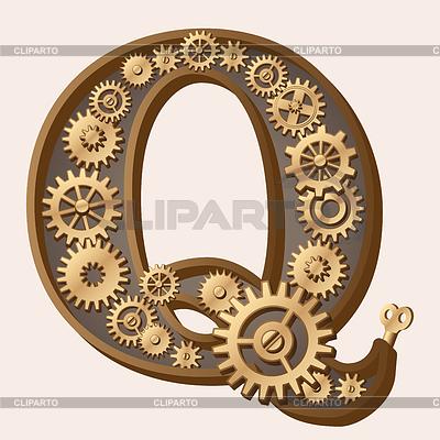 Mechanical alphabet   Stock Vector Graphics  ID 3280338