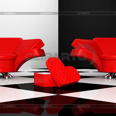 扶手椅心   高分辨率插图  ID 3040220