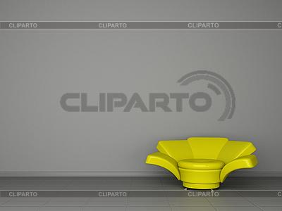 Yellow armchair | High resolution stock illustration |ID 3061889
