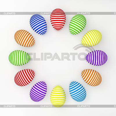 Easter eggs | Stockowa ilustracja wysokiej rozdzielczości |ID 3061896