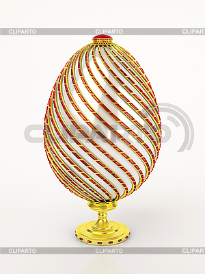 Fabergé-Ei | Illustration mit hoher Auflösung |ID 3061898