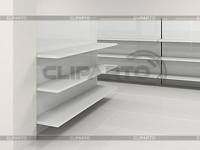Empty shelves | High resolution stock illustration |ID 3061900