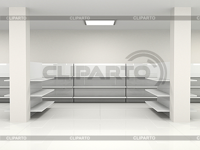 Empty hall | High resolution stock illustration |ID 3061913