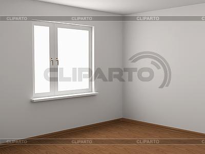 Pusty pokój | Stockowa ilustracja wysokiej rozdzielczości |ID 3061926