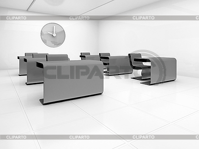 Empty class room | High resolution stock illustration |ID 3061957