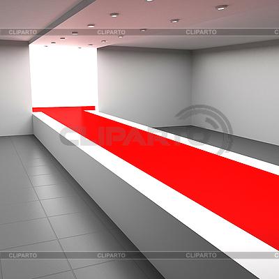 Laufsteg für Modenschau | Illustration mit hoher Auflösung |ID 3061969