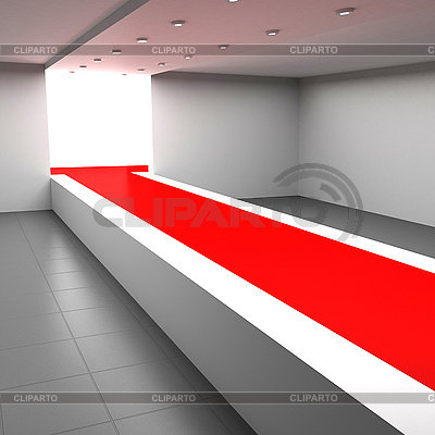 Fashion runway | High resolution stock illustration |ID 3061969