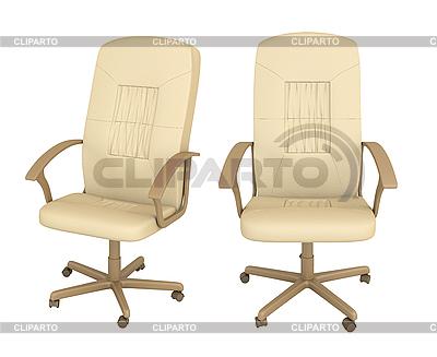 Set bestehend aus zwei Bürosessel | Illustration mit hoher Auflösung |ID 3124839