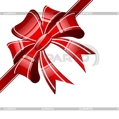 Czerwony łuk | Klipart wektorowy |ID 3040573