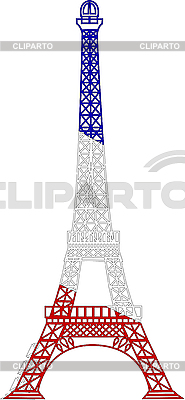 Eiffel tower | Stock Vector Graphics |ID 3042147