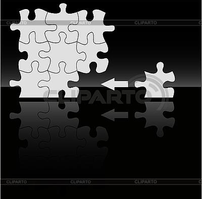 검정에 apuzzle | 벡터 클립 아트 |ID 3042187