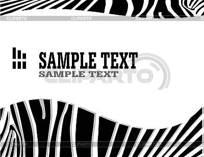 Abstract zebra background | Stock Vector Graphics |ID 3042195