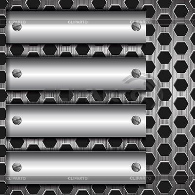Abstract metallic background | Stock Vector Graphics |ID 3044742