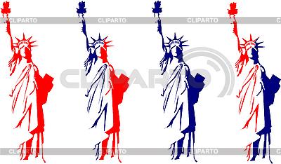 Statua Wolności   Klipart wektorowy  ID 3121977
