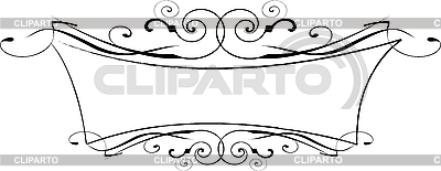 Black and white ornamental frame | Stock Vector Graphics |ID 3122027