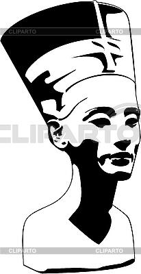 Kopf von Nofretete | Stock Vektorgrafik |ID 3161685