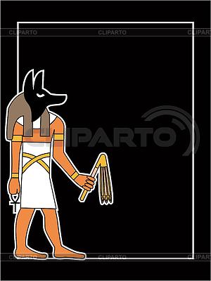Der ägyptische Gott | Stock Vektorgrafik |ID 3229044