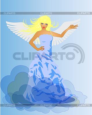 천사와 악마 복고풍 여자 | 벡터 클립 아트 |ID 3271794