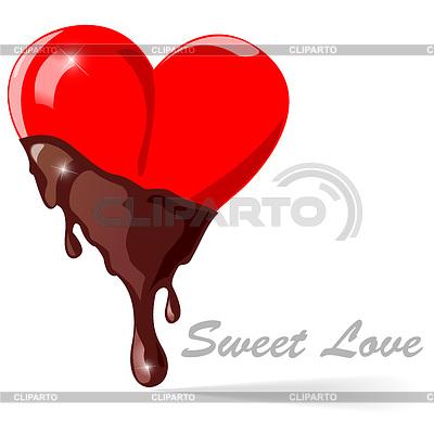 Chocolate heart | Stock Vector Graphics |ID 3334644