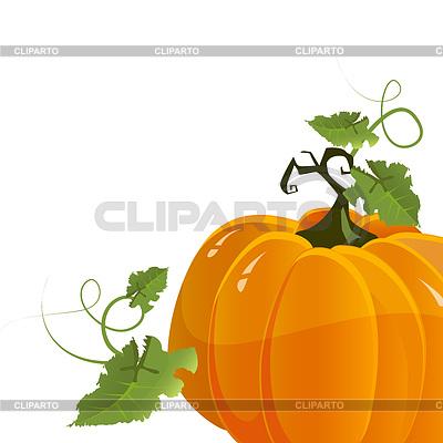 Kürbis zum Halloween   Stock Vektorgrafik  ID 3334781