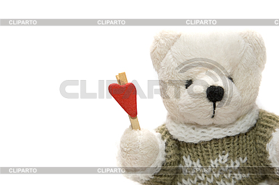 Teddybär mit Herz | Foto mit hoher Auflösung |ID 3054270