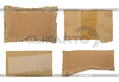 Cardboard set   High resolution stock photo  ID 3054287