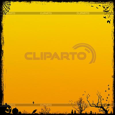 Yellow Halloween background | High resolution stock illustration |ID 3054320