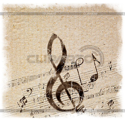 Old Style Music Background | High resolution stock illustration |ID 3054336