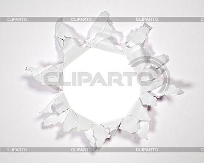 Loch im Paper | Foto mit hoher Auflösung |ID 3054379