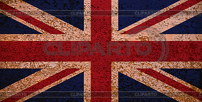 Rusty Flag Of Great Britain | High resolution stock photo |ID 3054428