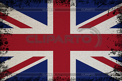 Flagge von Großbritannien im Retro-Stil | Foto mit hoher Auflösung |ID 3054429