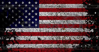 US-Flagge im Retro-Stil | Foto mit hoher Auflösung |ID 3054430