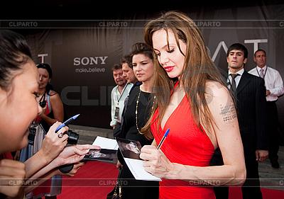 Aktorka Angelina Jolie | Foto stockowe wysokiej rozdzielczości |ID 3056427