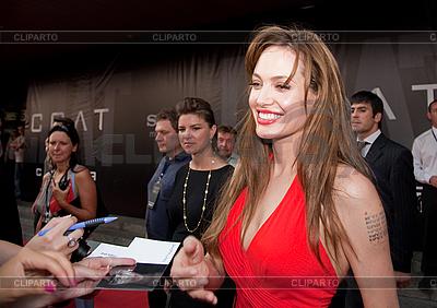 Aktorka Angelina Jolie | Foto stockowe wysokiej rozdzielczości |ID 3056428