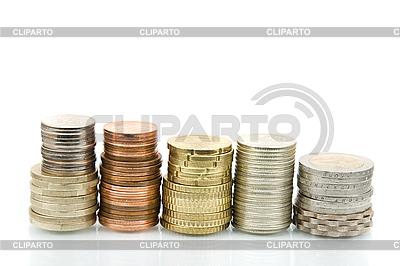 Różnych monet   Foto stockowe wysokiej rozdzielczości  ID 3056491