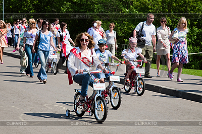 People on bikes | High resolution stock photo |ID 3056732