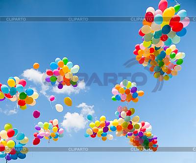 Kolorowe balony | Foto stockowe wysokiej rozdzielczości |ID 3056736