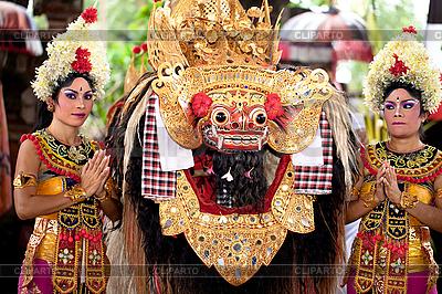 Barong - Held in der Mythologie von Bali | Foto mit hoher Auflösung |ID 3056771