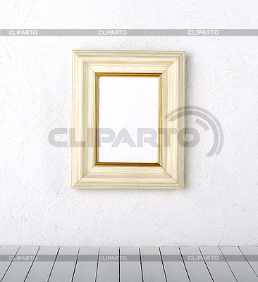 Picture frame on wall  | High resolution stock photo |ID 3069709