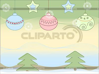 Neues-Jahr-Hintergrund | Stock Vektorgrafik |ID 3042666