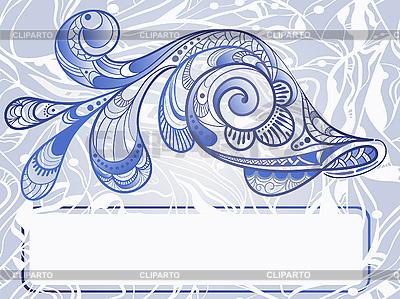 Beautiful abstract fish   Stock Vector Graphics  ID 3044656