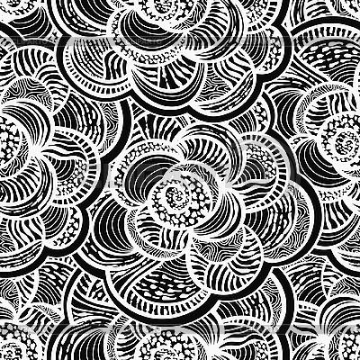 Monochromatyczne tła kwiatu z kwiatów | Klipart wektorowy |ID 3065430