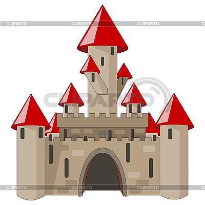 Cartoon castle | Stock Vector Graphics |ID 3065680