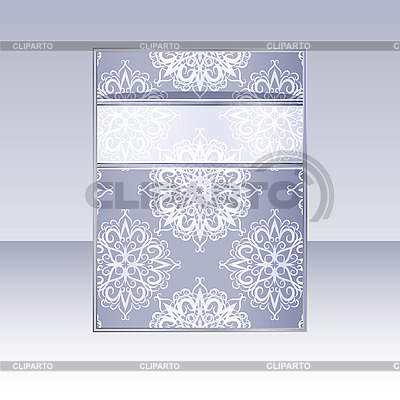 Design with snowflakes | Stock Vector Graphics |ID 3108847