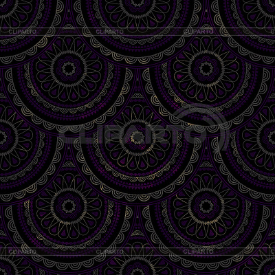 Seamless background with oriental circle pattern | Stock Vector Graphics |ID 3127361