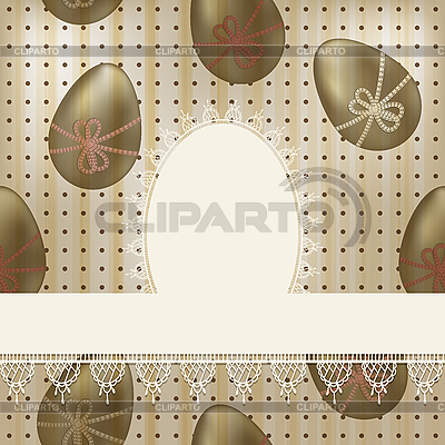 Vintage easter greeting card | Stock Vector Graphics |ID 3149500