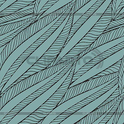 Nahtloses Muster von Blättern | Stock Vektorgrafik |ID 3192299